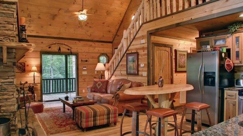 Small wooden house decoration tips