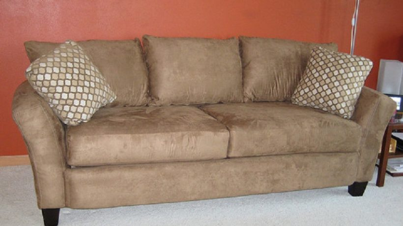 How to clean a suede couch?